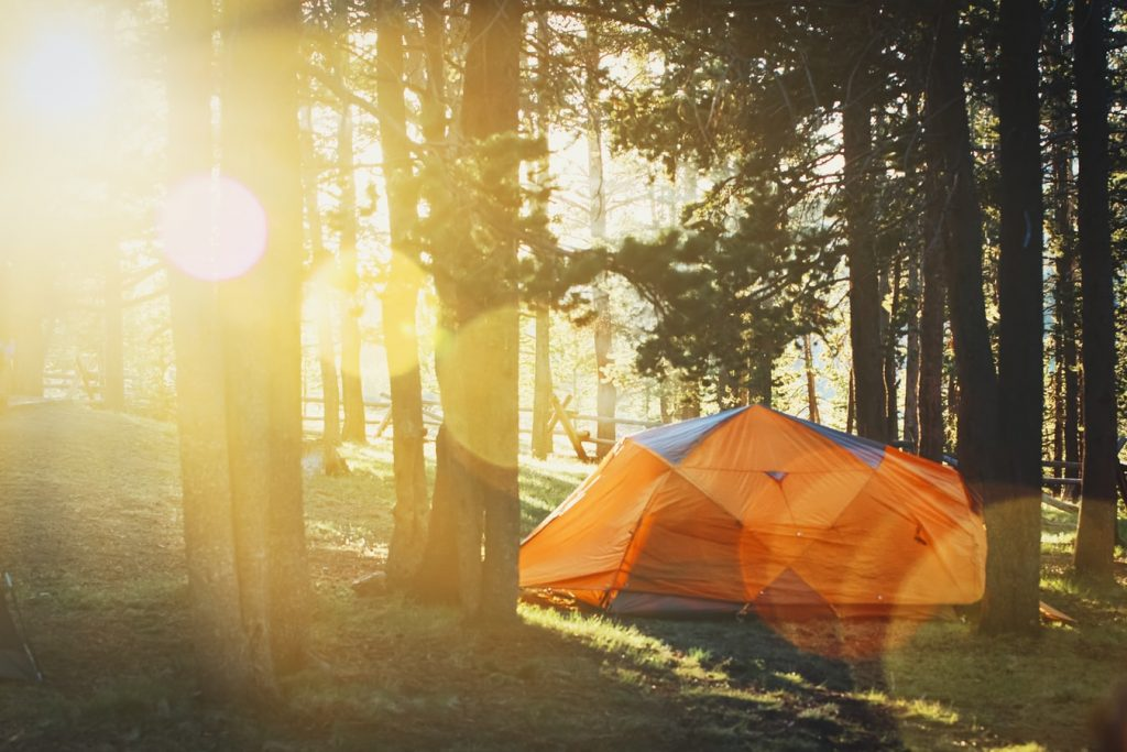 Why does wind make you tired when camping