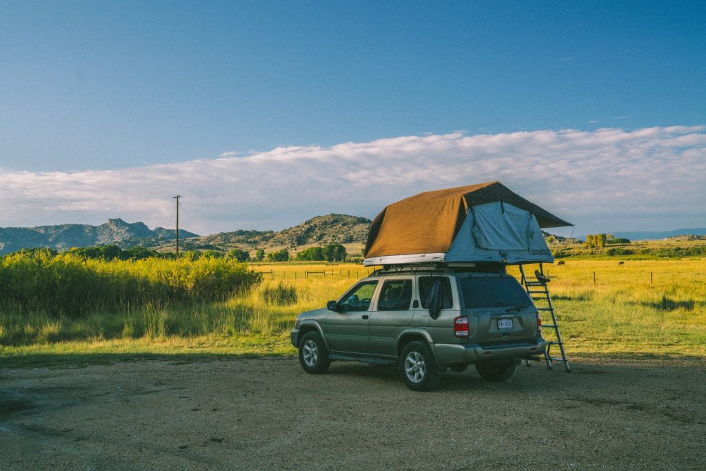 low profile roof top tent
