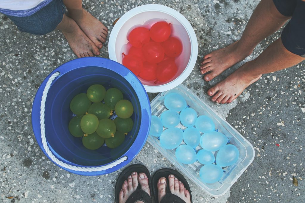 how to make water balloon fights more fun