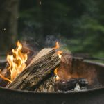What is The Right Wood Fire Pit Overhead Clearance?